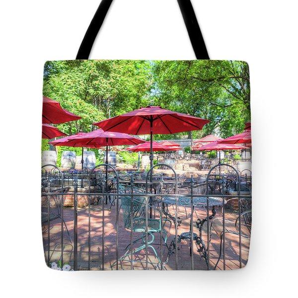 St. Charles Umbrellas Tote Bag