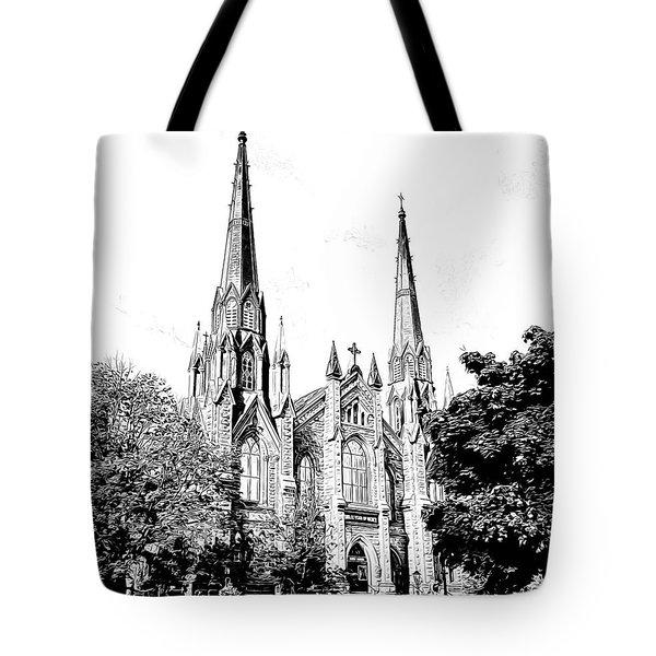 St Dunstans Basilica Tote Bag