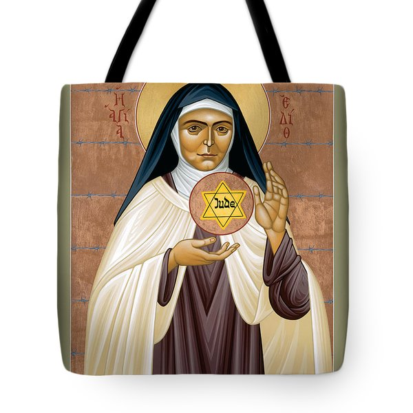 St. Edith Stein Of Auschwitz - Rleds Tote Bag