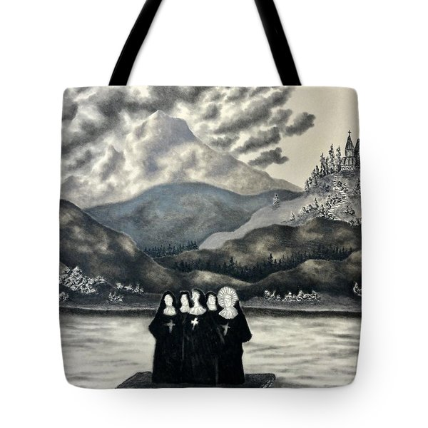 St. Franchea In Arran Tote Bag