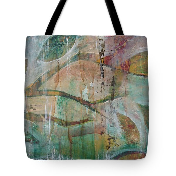 Tote Bag featuring the painting St Francis 2 by Jocelyn Friis