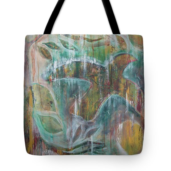Tote Bag featuring the painting St Francis 3 by Jocelyn Friis