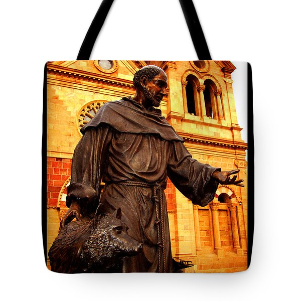 Cathedral Basilica Of St. Francis Of Assisi Tote Bag