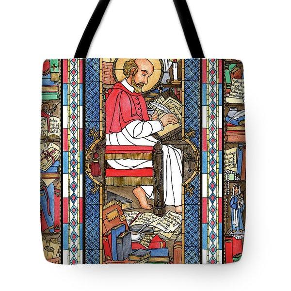 St. Francis De Sales Tote Bag