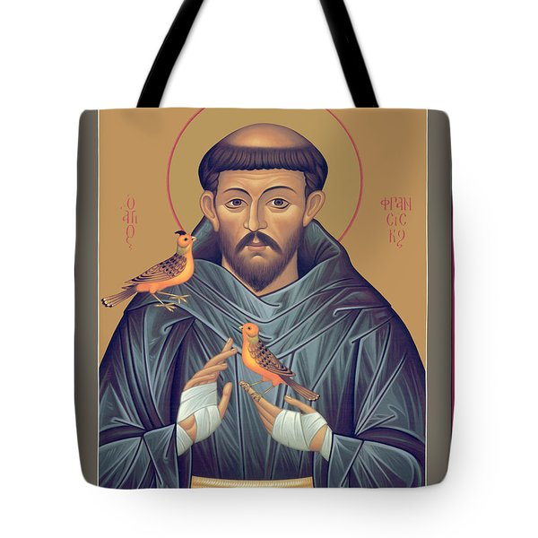 St. Francis Of Assisi - Rlfob Tote Bag