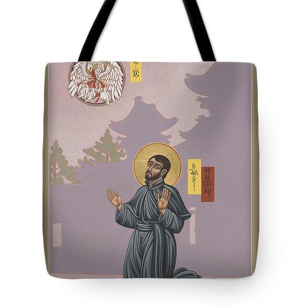 St Francis Xavier Adoring Jesus The Mother Pelican 164 Tote Bag
