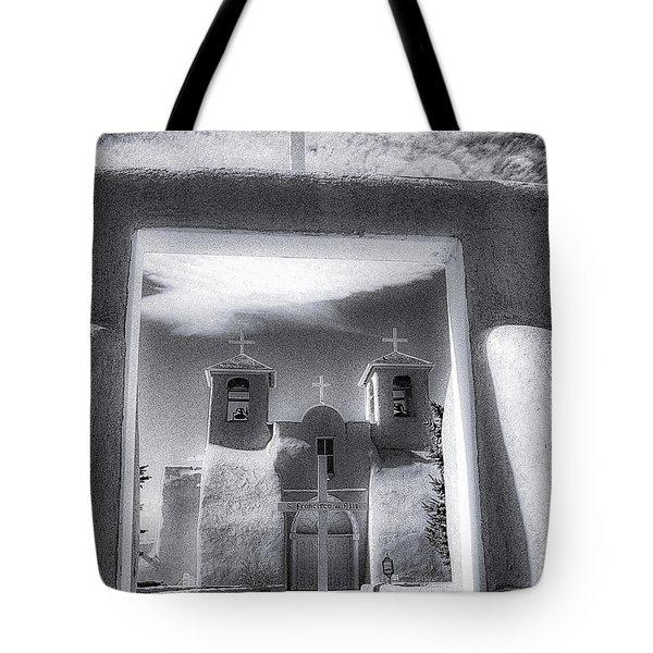 St. Francisco De Asis Tote Bag