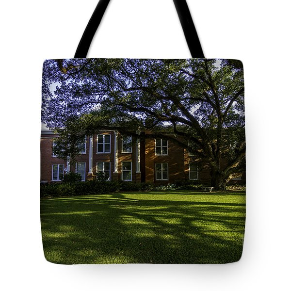 St. Francisville Courthouse Side View Tote Bag