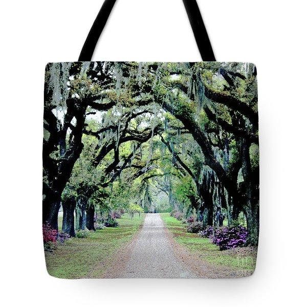 St Francisville Plantation Tote Bag