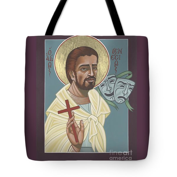 Tote Bag featuring the painting St Genisius Patron Of Actors 279 by William Hart McNichols