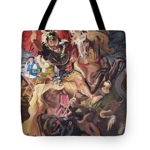 St George And The Dragon Tote Bag