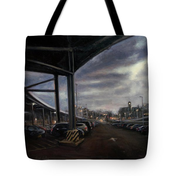 St. George From The Staten Island Ferry Terminal Tote Bag