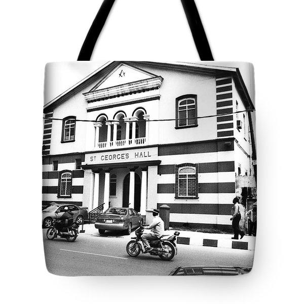 St. Georges Hall, Broad Street Tote Bag