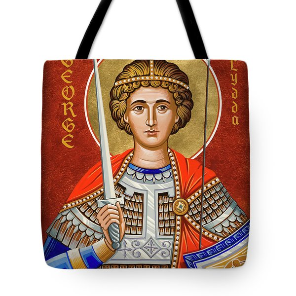 St. George Of Lydda - Jcgly Tote Bag