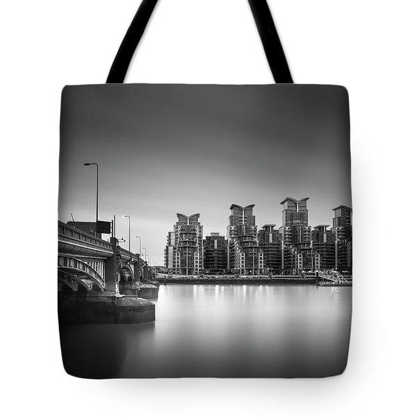 St. George Wharf Tote Bag