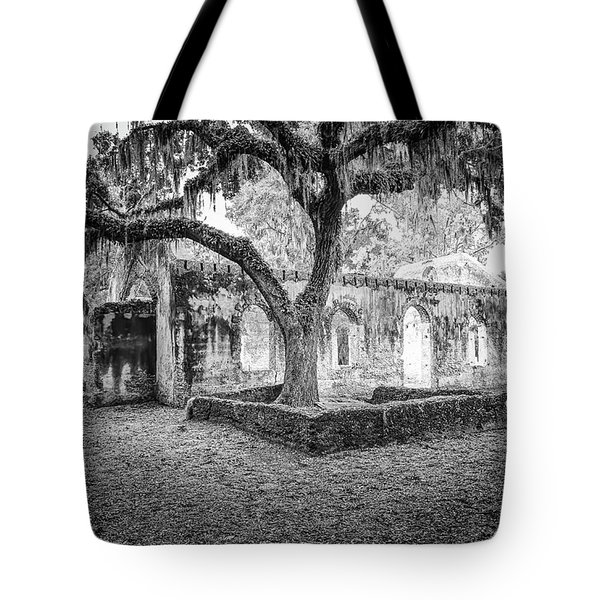 St. Helena Tabby Church Tote Bag