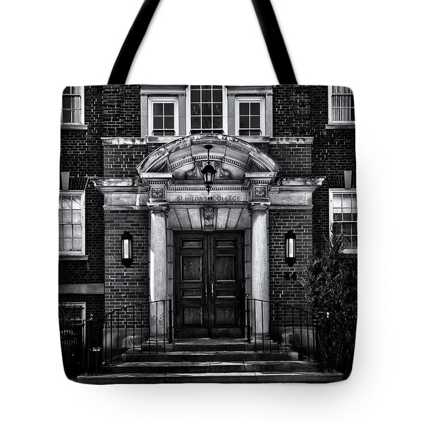 St Hilda's College University Of Toronto Campus Tote Bag by Brian Carson