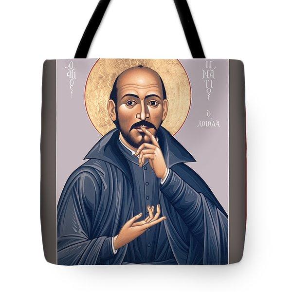 St. Ignatius Loyola - Rligl Tote Bag