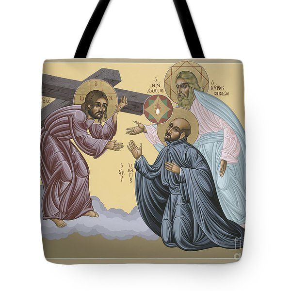St Ignatius Vision At La Storta 074 Tote Bag