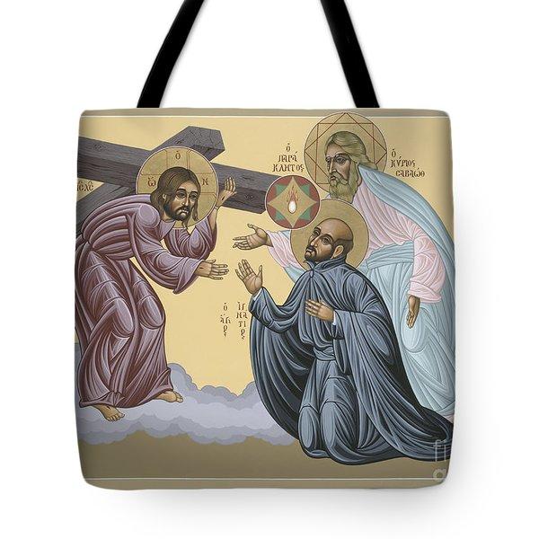 St Ignatius Vision At La Storta 074 Tote Bag