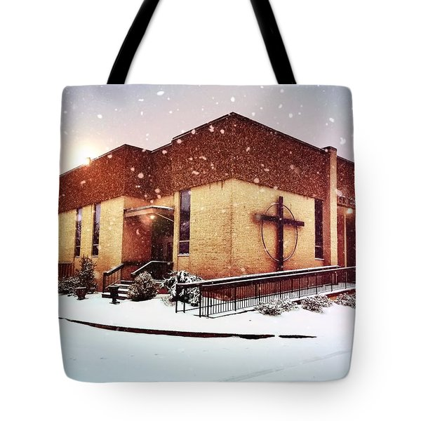 St. Isaac Jogues In The Snow Tote Bag