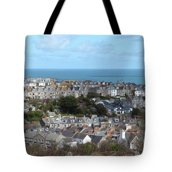 St Ives, Cornwall, Uk Tote Bag by Nicholas Burningham