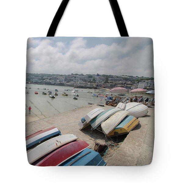 St Ives Harbour Tote Bag
