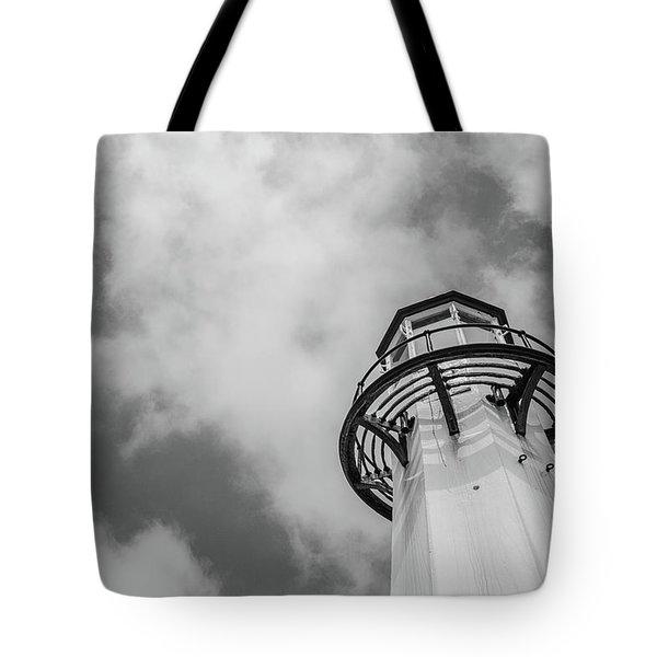 St Ives Lighthouse Tote Bag