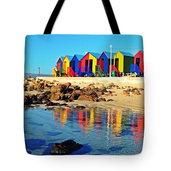 St James On A Spring Morning Tote Bag