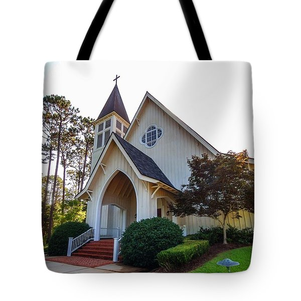 Tote Bag featuring the photograph St. James V2 Fairhope Al by Michael Thomas