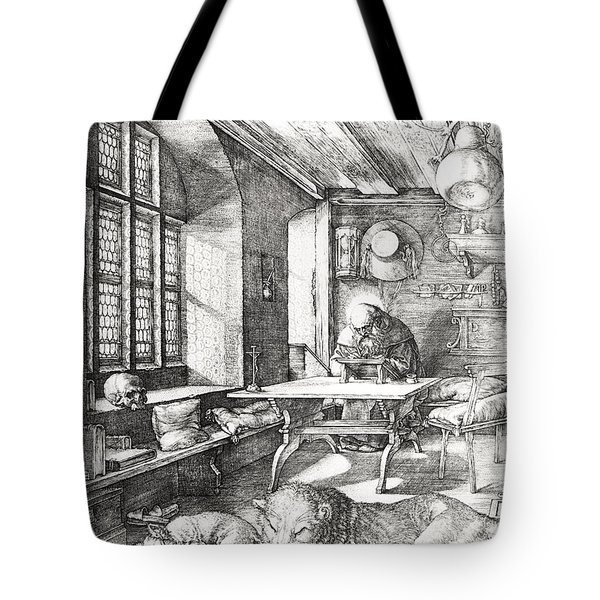 St Jerome In His Study Tote Bag