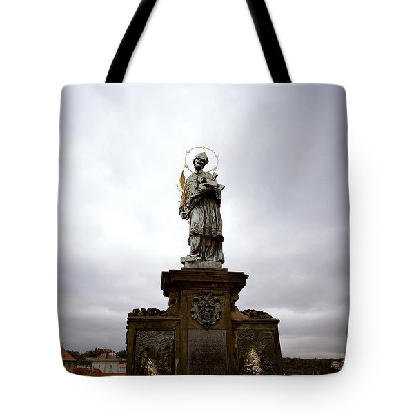 Saint John Of Nepomuk Tote Bag