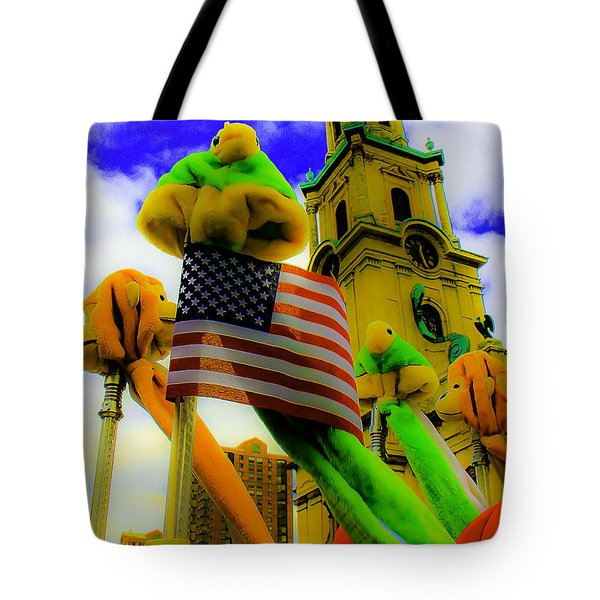St. Johns America Tote Bag