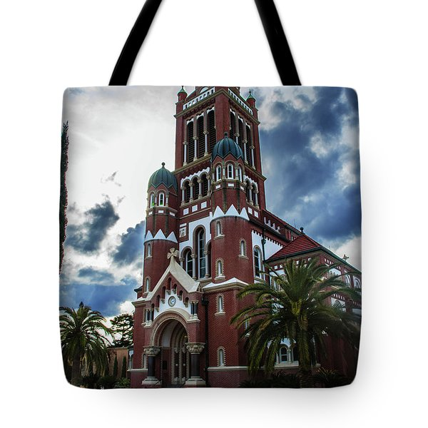 St. Johns Cathedral 1 Tote Bag by Robert Hebert