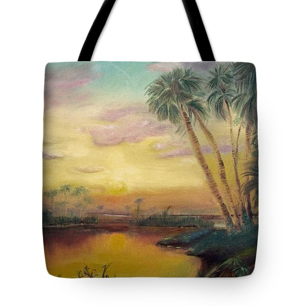 St. Johns Sunset Tote Bag