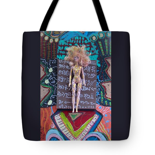 Tote Bag featuring the painting St. John's Wort Herbal Tincture by Clarity Artists