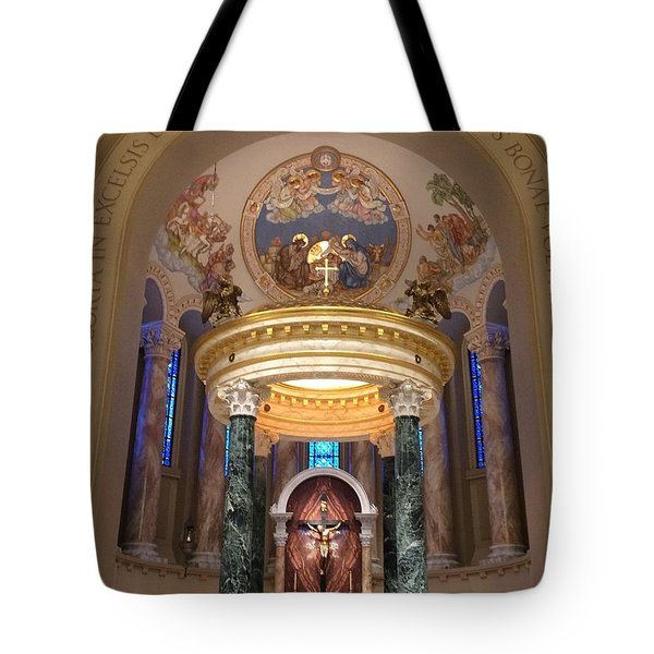 St. Joseph Cathedral-sioux Falls Sd Tote Bag