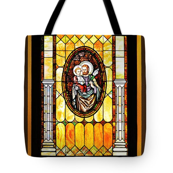 Tote Bag featuring the photograph St Joseph Immaculate Conception San Diego by Christine Till