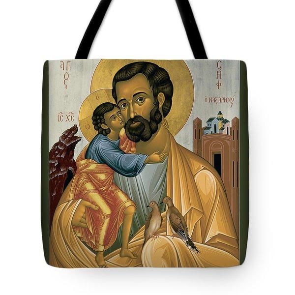 St. Joseph Of Nazareth - Rljnz Tote Bag