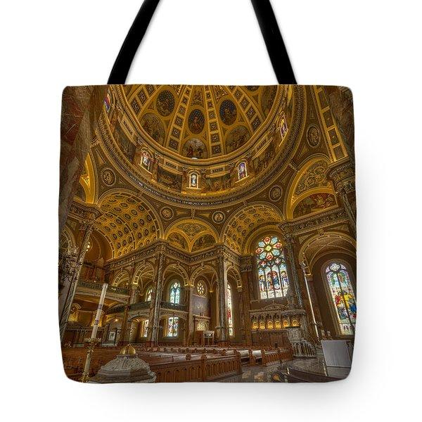St Josaphat Basilica Milwaukee W I Tote Bag