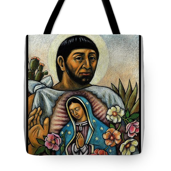 St. Juan Diego And The Virgins Image - Jljdv Tote Bag