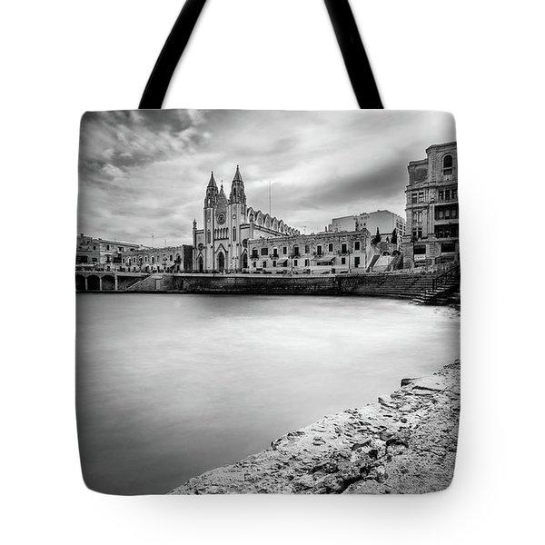 St. Julian's Bay Tote Bag