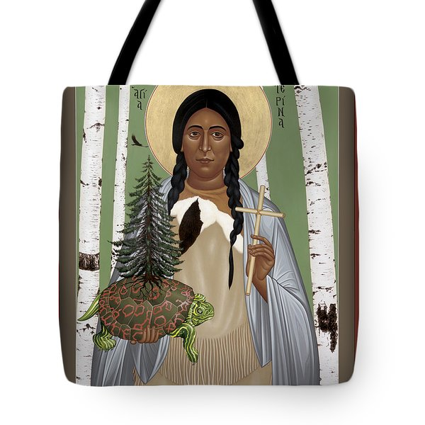 St. Kateri Tekakwitha Of The Iroquois - Rlktk Tote Bag