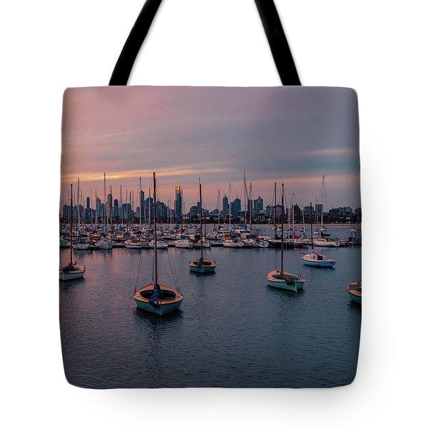 St. Kilda Breakwater Tote Bag