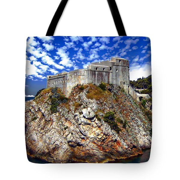 St. Lawrence Fortress Tote Bag