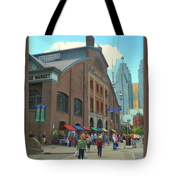 St Lawrence Market Tote Bag