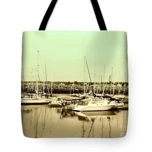 St. Lawrence Seaway Marina Tote Bag