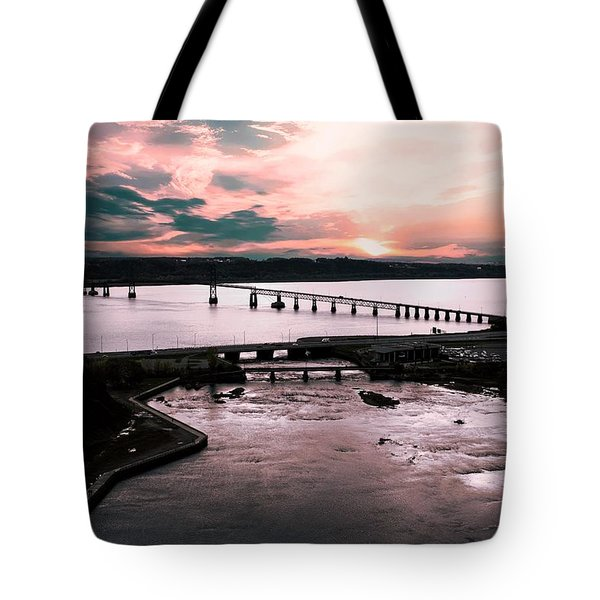 St. Lawrence Sunset Tote Bag