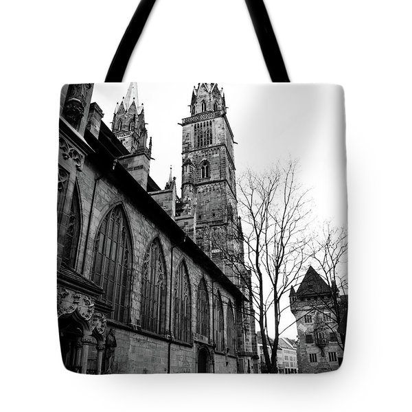 St. Lorenz Cathedral Tote Bag