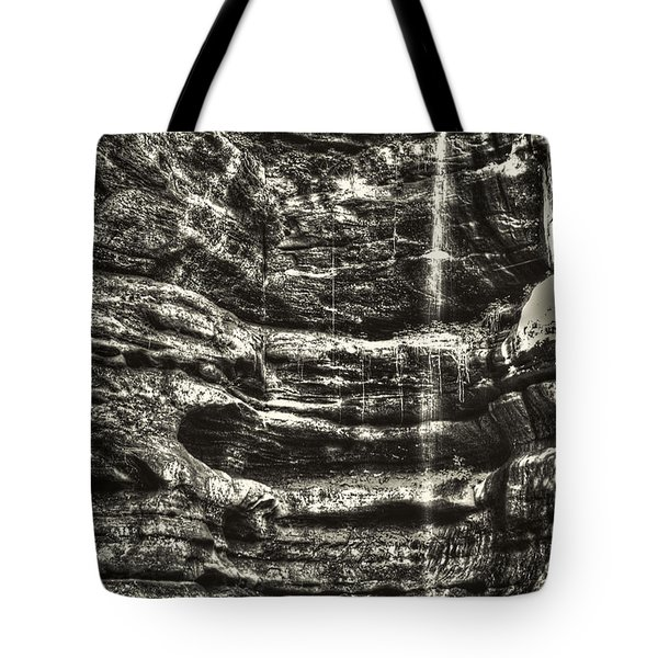 St Louis Canyon At Starved Rock State Park Tote Bag